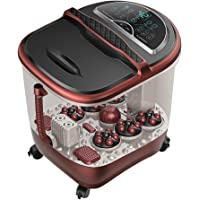 Electric Foot Spa Massagers Foot Tub Automatic Massage Foam Bucket Red Light Heating Electric Foot Bath Thermostatic…