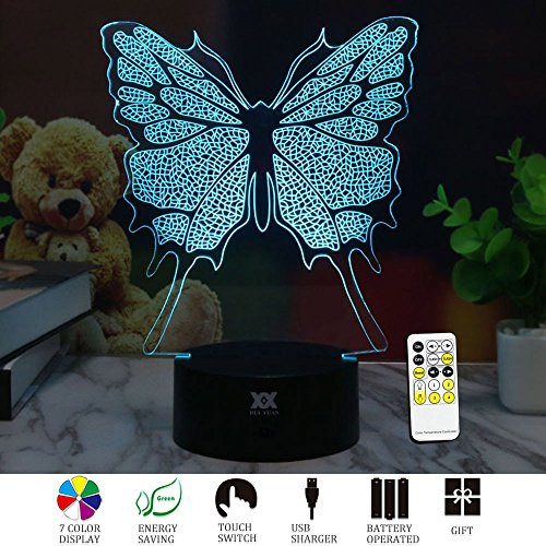 Led 3D Butterfly Night Lights - 3