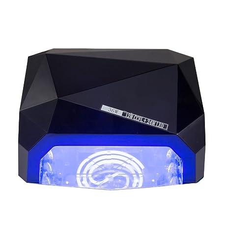MCTECH® Lámpara UV de uñas profesional de uñas 36W Secadores de uñas de secado para