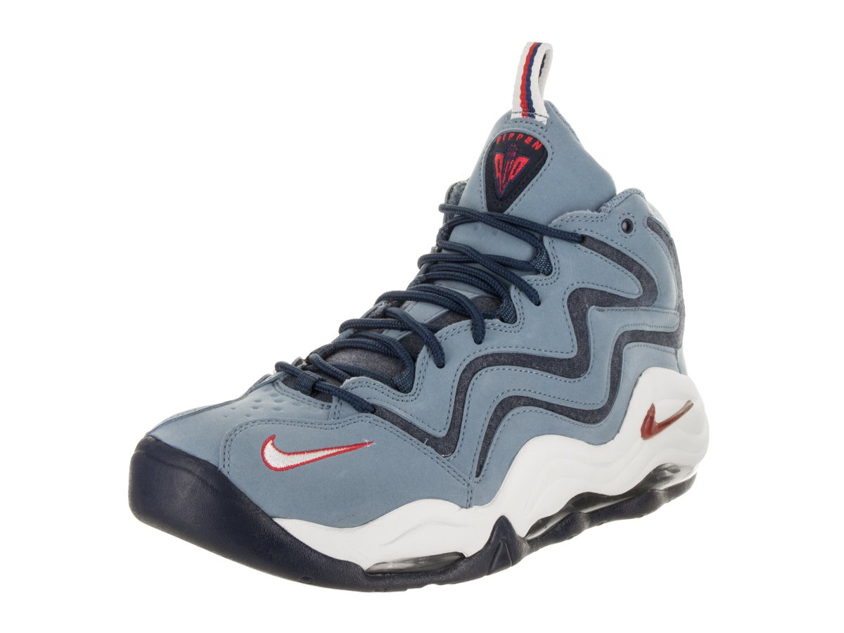 NIKE Men's Air Pippen Shoe Work Blue/University Red/White B07B1G9BT1 10 D(M) US|Work Blue/University Red