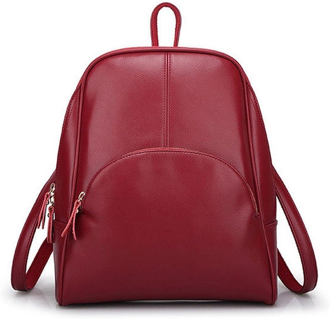DEERWORD Para mujer Bolsos mochila Bolsos bandolera Carteras de mano Mochila escolar Bolsa para portátil Cuero