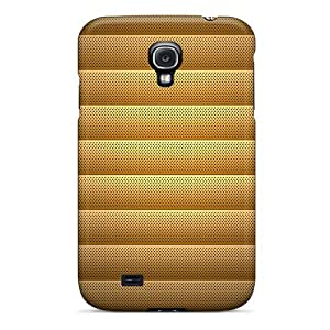 Cute Tpu KellyMeeks Metal Heat Background Case Cover For Galaxy S4
