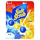 Soft Scrub 1886840 Toilet Care, Lemon (Pack of 10)