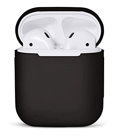71775336b4b AirPods Case (included AirPods Strap) Protective Silicone Cover and Skin  for Apple Airpods (