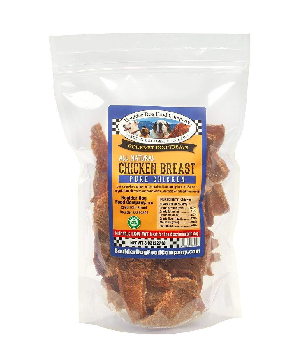 Chicken Breast Strips, 8oz Chicken Jerky Dog Treats – Grain Free Dog Treats – Healthy Dog Treats – Natural Dog Treats – Dog Treats Made in USA Only
