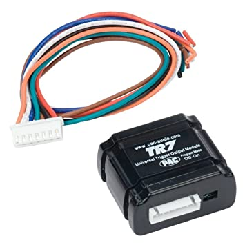 amazon com pac tr 7 universal trigger output module for video pac tr 7 universal trigger output module for video bypass