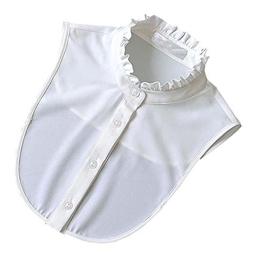 Victorian Clothing, Costumes & 1800s Fashion White Shirt False Collar Classic White Fashion Shirt False CollarWhite $14.80 AT vintagedancer.com