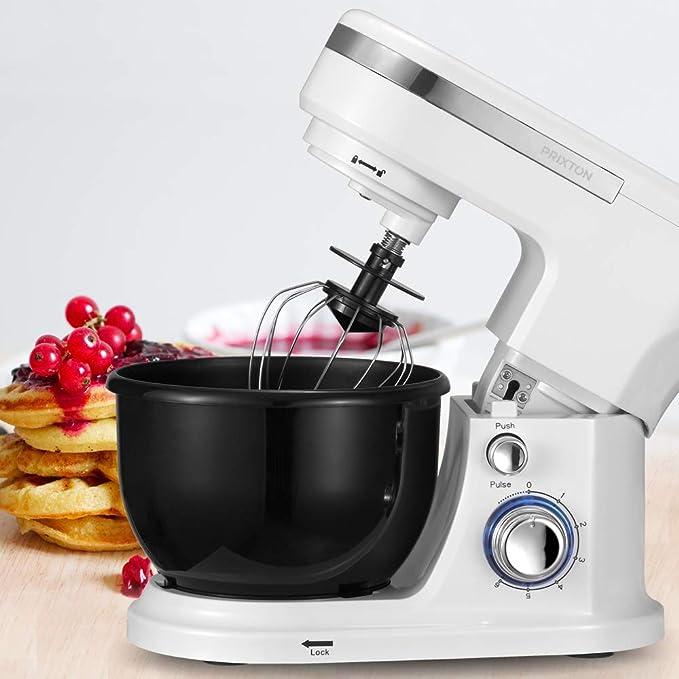 PRIXTON KR100W - Robot Cocina/Batidora Amasadora de Reposteria con ...