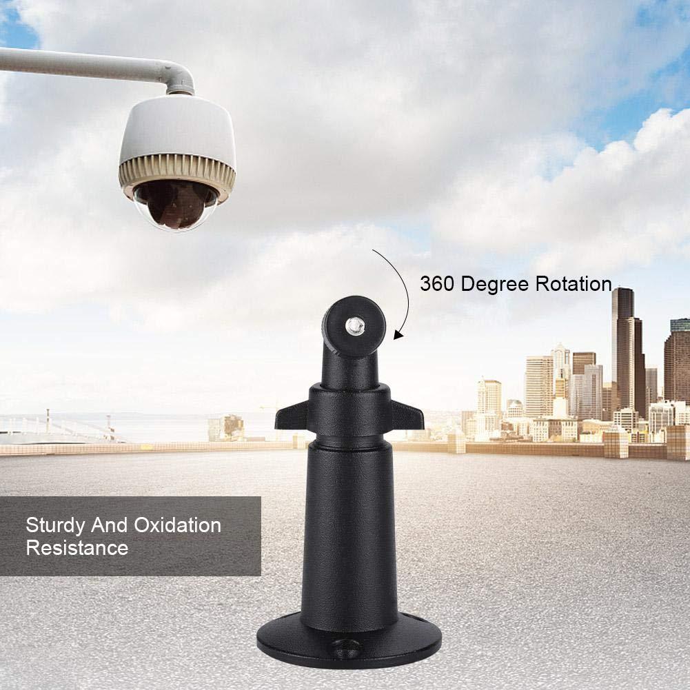 Blanco Techo de pared Soporte de seguridad ajustable soporte de rotaci/ón de 360 grados Soporte de montaje de c/ámara de vigilancia