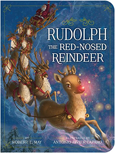 photograph about Words to Rudolph the Red Nosed Reindeer Printable named Rudolph the Purple-Nosed Reindeer (Clic Board Publications)