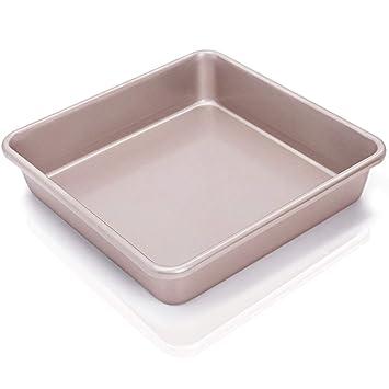 Lot de 3 antiadhésif en acier au carbone Rôtir Plateau Four Rôtissoire Tins Baking Pan Plat