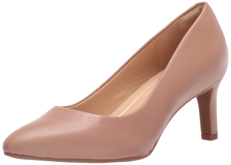 Calla Rose Pump, Praline Leather