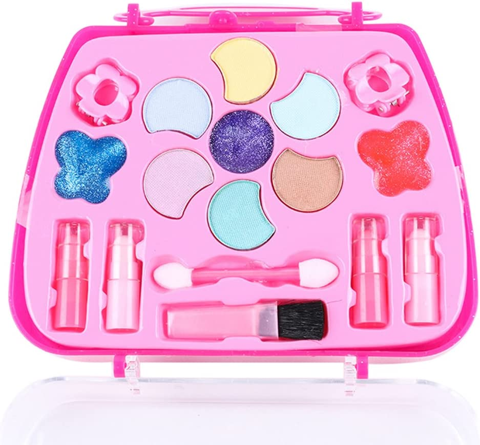 KY-BORED Girls Make Up Game Toy Set Plastic Miniature Pretend Play Box Funny Lovely Gifts