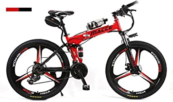 Bicicleta de Montaña Unisex Suspensión Doble Bicicleta de Montaña ...