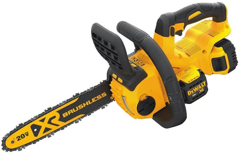 DEWALT Brushless Compact Cordless Chainsaw Kit