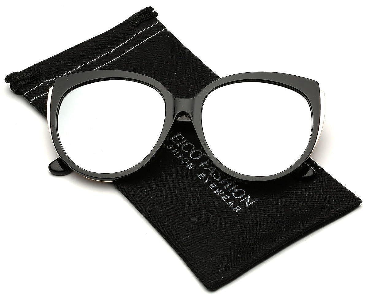 Oversized Cat EyeレディースReflectiveフラットレンズサングラス B01MSDG6ZV B01MSDG6ZV | Black | Silver Mirror Black Black | Silver Mirror|55. ミリメートル, コマツシマシ:60255fcc --- verkokajak.se