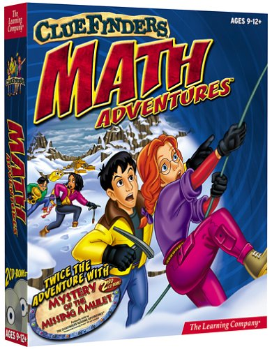 ClueFinders Math 9-12 by The Learning Company