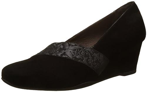 Emily 10 Goat Suede, Zapatos con Plataforma para Mujer, Negro (Nero/Black), 41 EU Stonefly