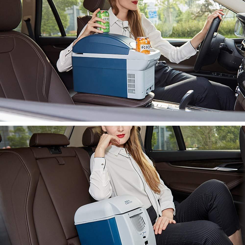 LHAO Nevera Coche 8.5L Mini Nevera portatil eléctrico enfría y ...