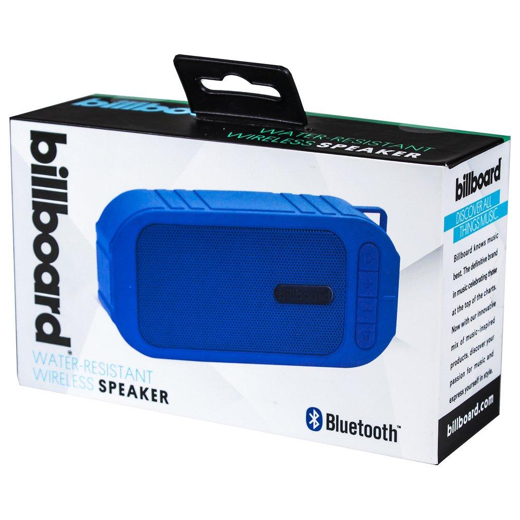 Billboard Water-Resistant Bluetooth Wireless Speaker With Enhanced Bass  Black