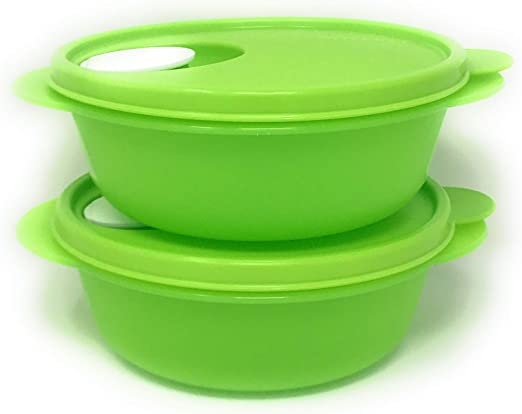 Amazon.com: Tupperware crystalwave Microondas Almuerzo Bowl ...