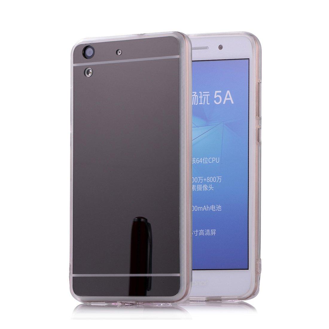 DBIT Huawei Y6 II / Honor 5A Funda, Gel Espejo TPU Silicona Ultra ...