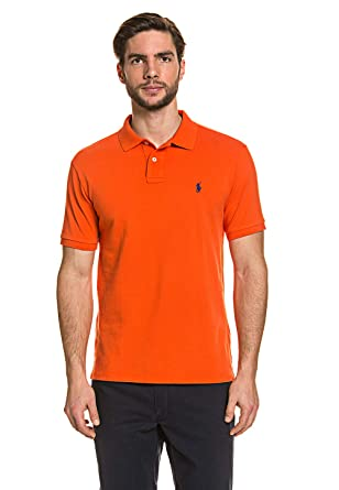 Polo Ralph Lauren MenŽs Polo Shirt Orange, tamaño:S: Amazon.es ...