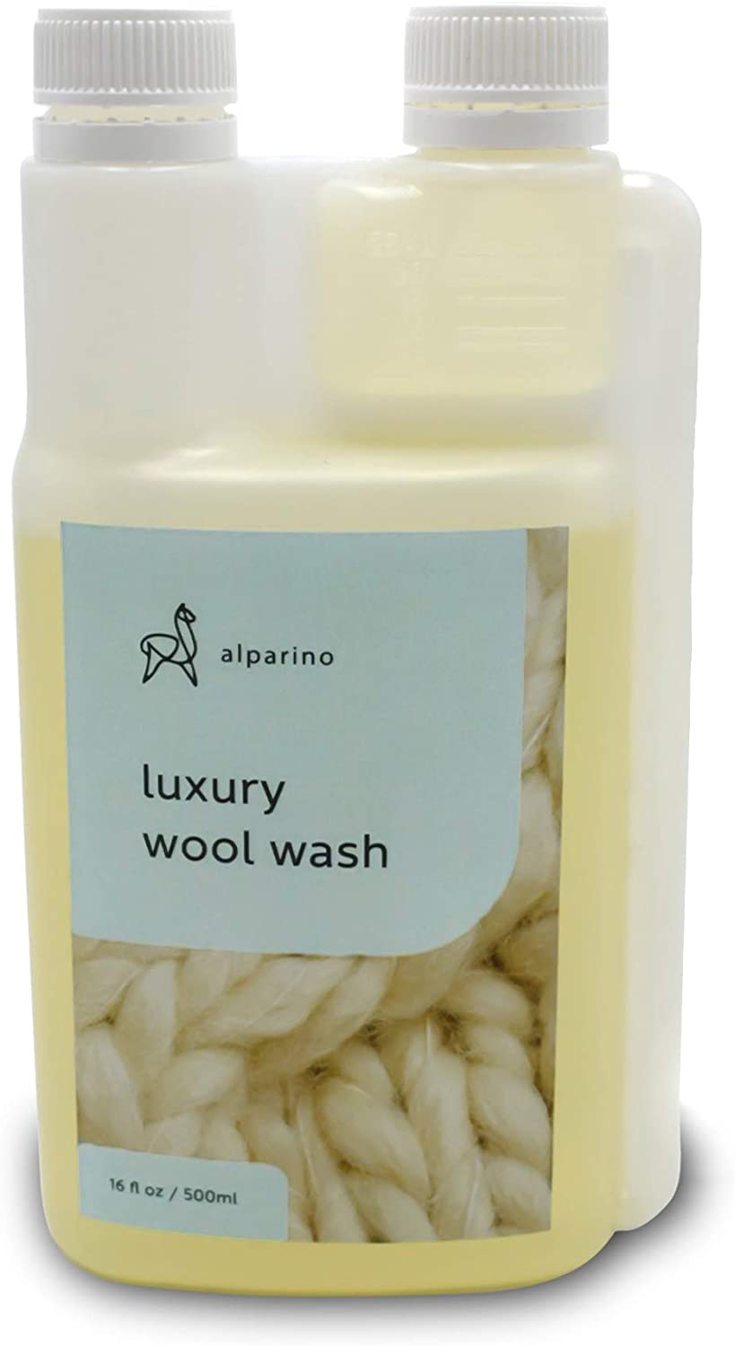 Alparino Wool Wash. Gentle and Natural Laundry Detergent for Cashmere, Wool, Alpaca and Sheepskin