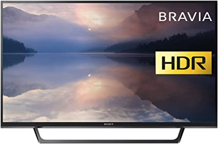 Sony Bravia KDL32RE403 32-Inch HD Ready HDR TV (X-Reality PRO, USB HDD Recording), Black [Energy Class A]