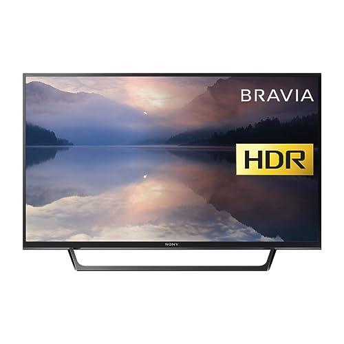 Sony Bravia KDL32RE403 32-Inch HD Ready HDR TV (X-Reality PRO, USB HDD Recording), Black (2017 Model)