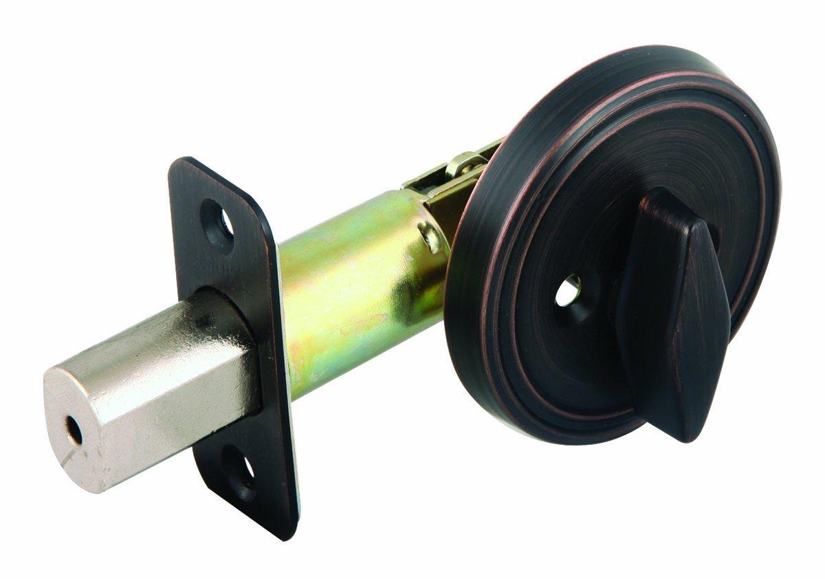 Design House 702621 Single Cylinder Deadbolt, Brushed Bronze