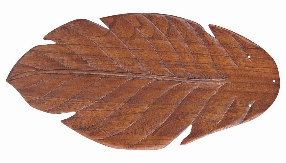 Craftmade B556T-LO1 56'' Tropic Isle Blades In Light Oak Philodendron