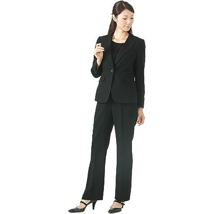京都スタイル kyoto style ブラックフォーマル 喪服 3点セット パンツスーツ