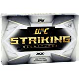 2020 Topps UFC Striking Signatures Factory Sealed HOBBY BOX with Encased AUTOGRAPH! Look for Autos of ISREAL ADESANYA, George
