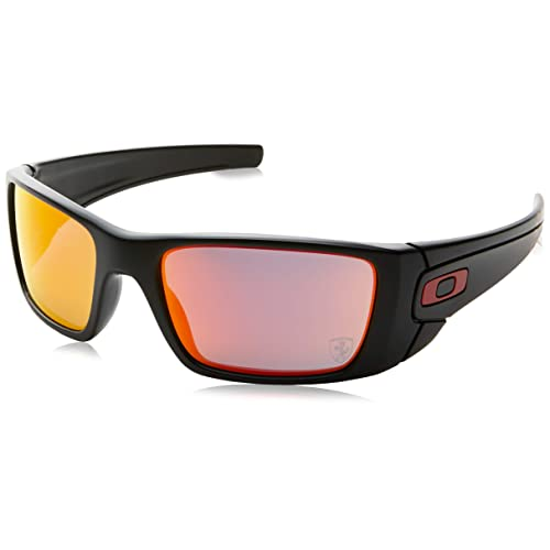 Oakley Fuel Cell - Gafas de ciclismo, color negro (matte black/ruby iridium