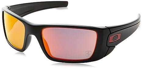 Oakley Fuel Cell - Gafas de ciclismo, color negro (matte black/ruby iridium