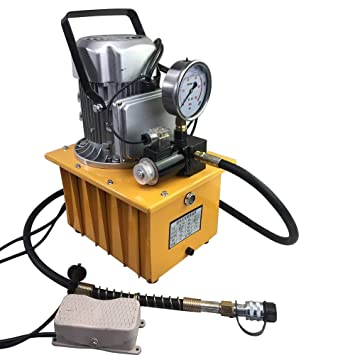 Electric Hydraulic Pump >> Amazon Com Electric Hydraulic Pump 10000 Psi Pedal Solenoid