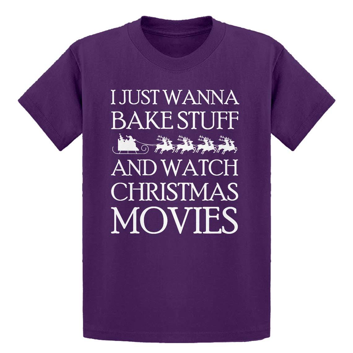 Bake Stuff Christmas Movies Kids T-Shirt