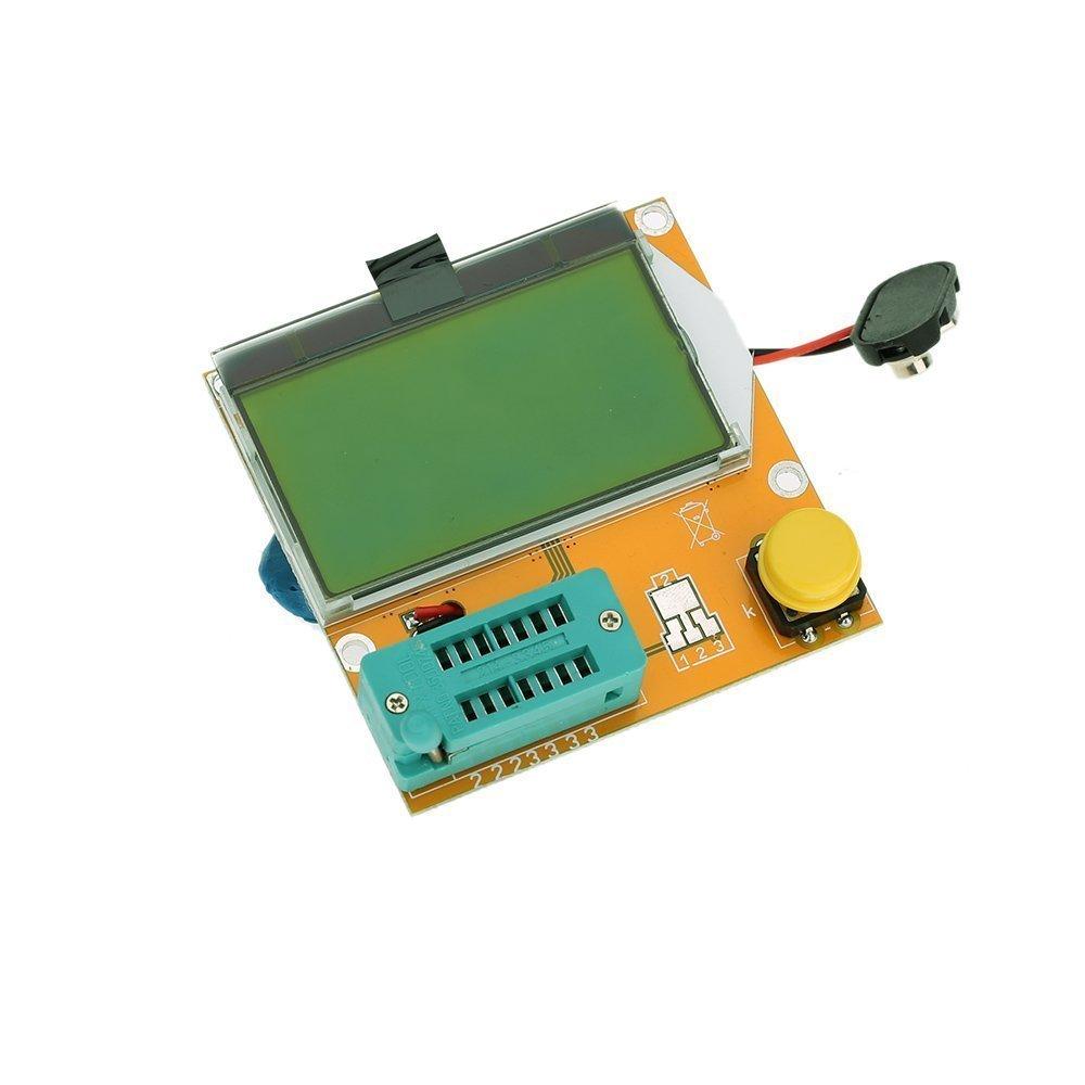 testeur de transistor - TOOGOO(R)Multifonction LCD Backlight Transistor testeur Diode Triode Capacitance ESR Meter MOS PNP NPN LCR TOOGOO (R) SPHAGT54516