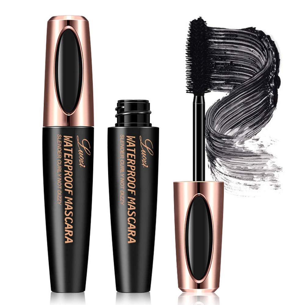 Amazon.com : Sussanna 4D Silk Fiber Lash Mascara Waterproof ...