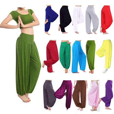 Elegantes Moda Mujer Pantalones Yoga Mujer Primavera Verano ...
