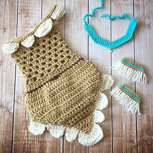 Amazon.com: Pocahontas Inspired Costume/Crochet Pocahontas Dress ...