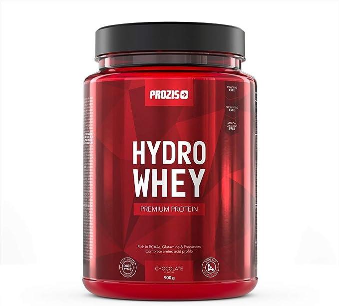 Prozis 100% Hydro Whey 900 g Chocolate El suero de leche ...