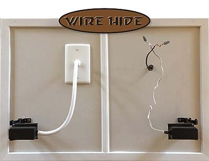 Wire hide- Sensor de Puerta cochera Hiding Guía: Amazon.com ... on hiding basement plumbing, hiding cords on mounted tv wall, hiding behind a wall, hiding behind your wall, hiding wall corner, hiding behind a corner, hiding wall speakers, hiding foundation,