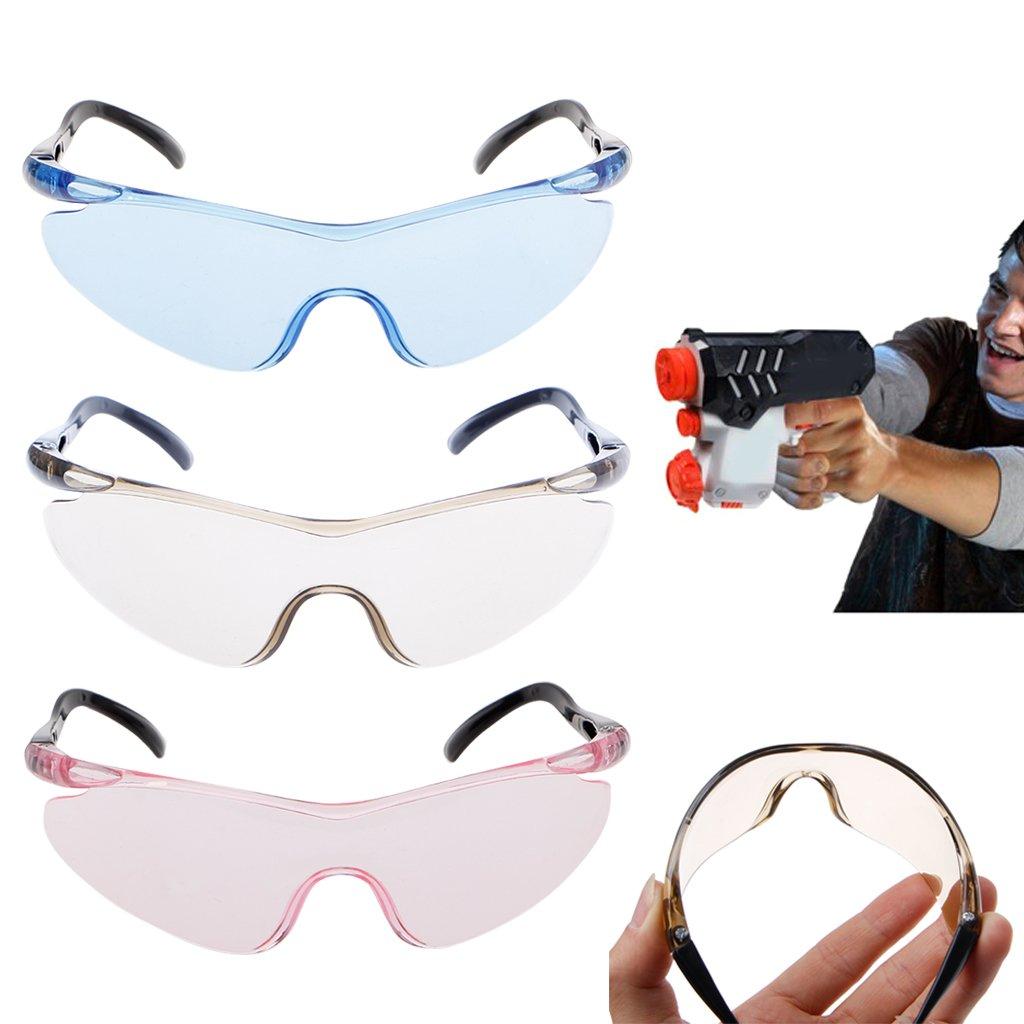 guoyy 1/Pieza pl/ástico Juguete Pistola Vasos para Nerf Proteger Ojos Outdoor Ni/ños Regalos