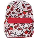 Hello Kitty 16 inch All Over Print Deluxe Backpack With Laptop Compartment