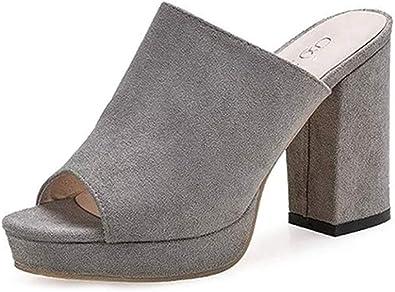 Sandals, Mule, Thick Sole Sandals