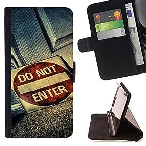 Momo Phone Case / Flip Funda de Cuero Case Cover - No incorpore Grunge sesión - LG G4 Stylus H540