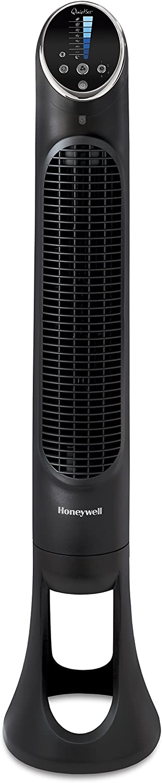 Honeywell HYF290E 4 Ventilador Torre Quietset Potente, Ultrasincioso con Mando A Distancia, Negro, Talla Única
