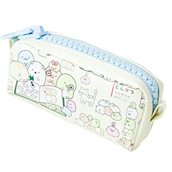 High Capacity Silicon Pencil Cases Stationery Pouch Pen Bag School Supplies Cute Animal Cream Amazon In Office Products